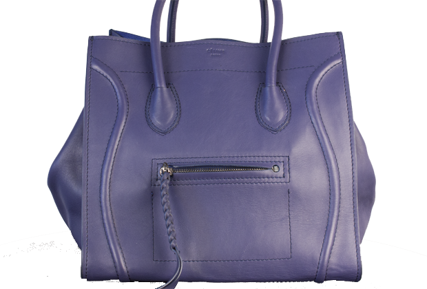 authentic celine luggage tote - Celine Phantom Satchel Navy Blue Replica Bag | Hannah Handbags