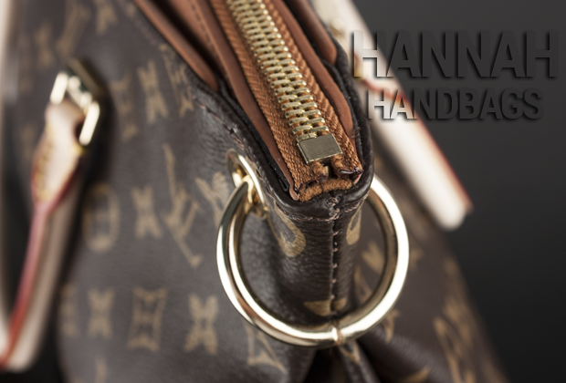 Fake Monogram Pallas Havane Zipper
