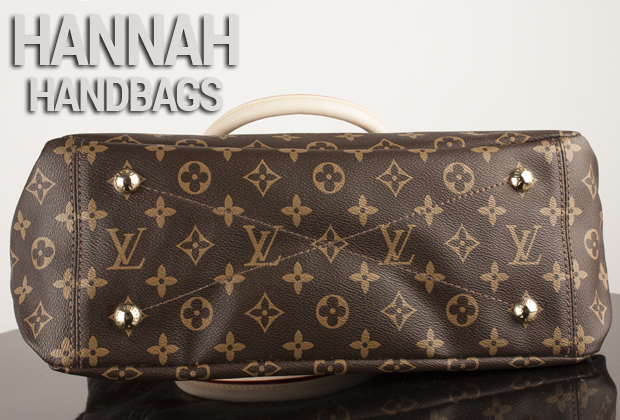 Louis Vuitton Monogram Pallas Havane Buttom