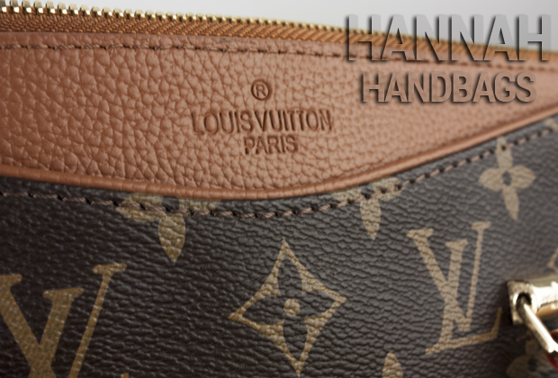 Louis Vuitton Monogram Pallas Havane Replica Handbag