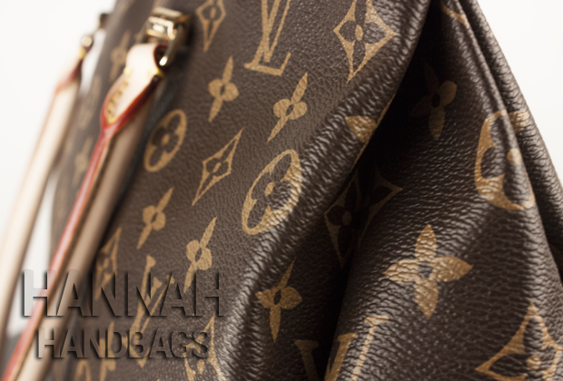 Replica Louis Vuitton Monogram Pallas Havane Details