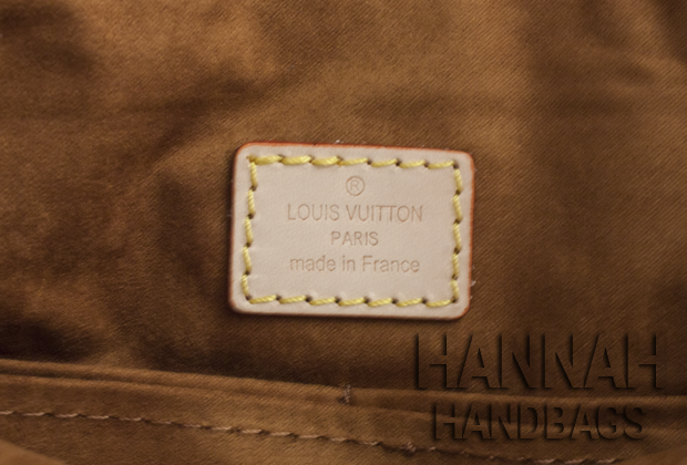 Replica Louis Vuitton Monogram Pallas Havane Tag