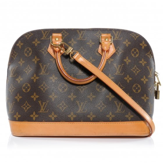 Authentic LV Alma Monogram