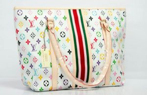 fake white murakami neverfull handbag