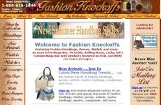 colorful handbags store homepage