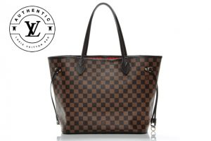 f1cb5f48cedfd damier ebene canvas neverfull LV brown handbag · Replica Handbags