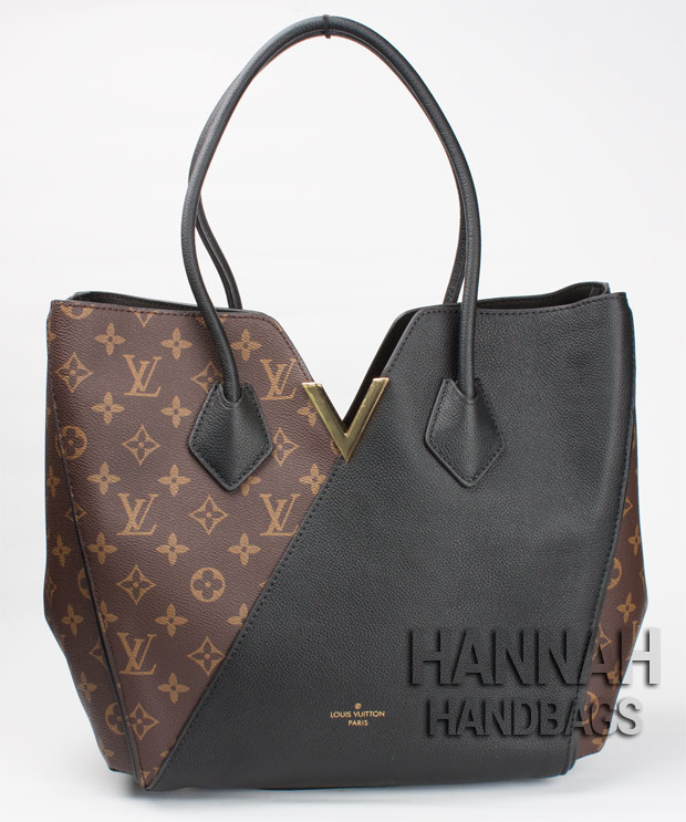 Fake Louis Vuitton Kimono handbag black handles