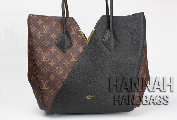 Fake Louis Vuitton monogram black handbag