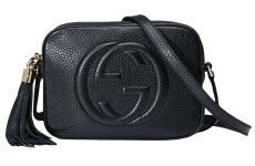 authentic black Gucci evening purse