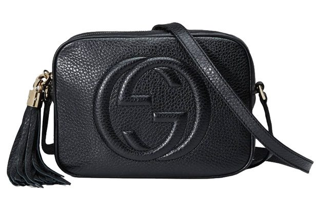 0748515eb1a authentic black Gucci evening purse