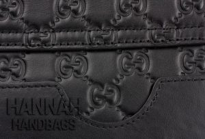 gucci embossed