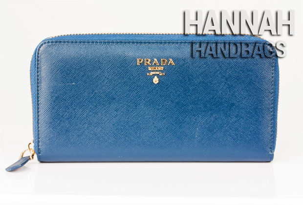 fake prada wallet front side