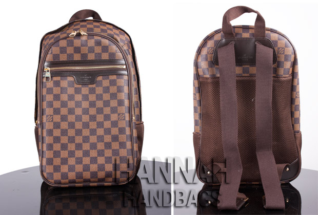 cc7200f3e4e7 LV Damier Ebene Michael Backpack Replica