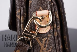 Louis Vuitton handbag gold hardware