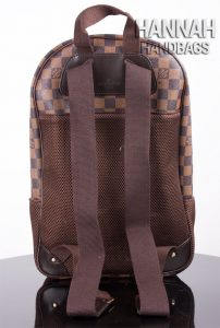 wrong shoulder straps on Louis Vuitton backpack replica