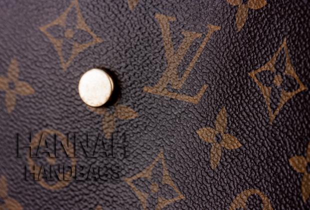 Montaigne MM Monogram canvas leather