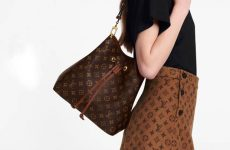 Girl Carrying LV bag
